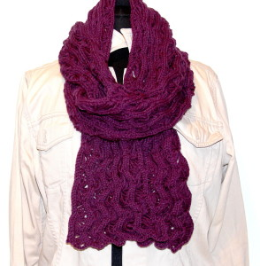 Fan Lace SCARF 81x8
